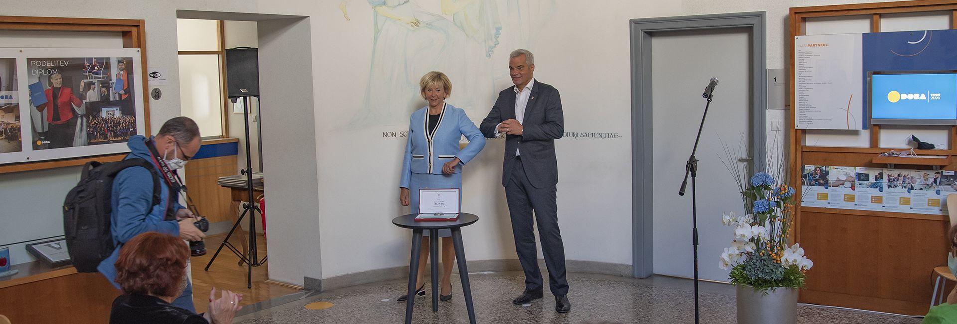 Gradonačelnik grada Maribora DOBI povodom 30. obljetnice dodijelio Pečat grada Maribora