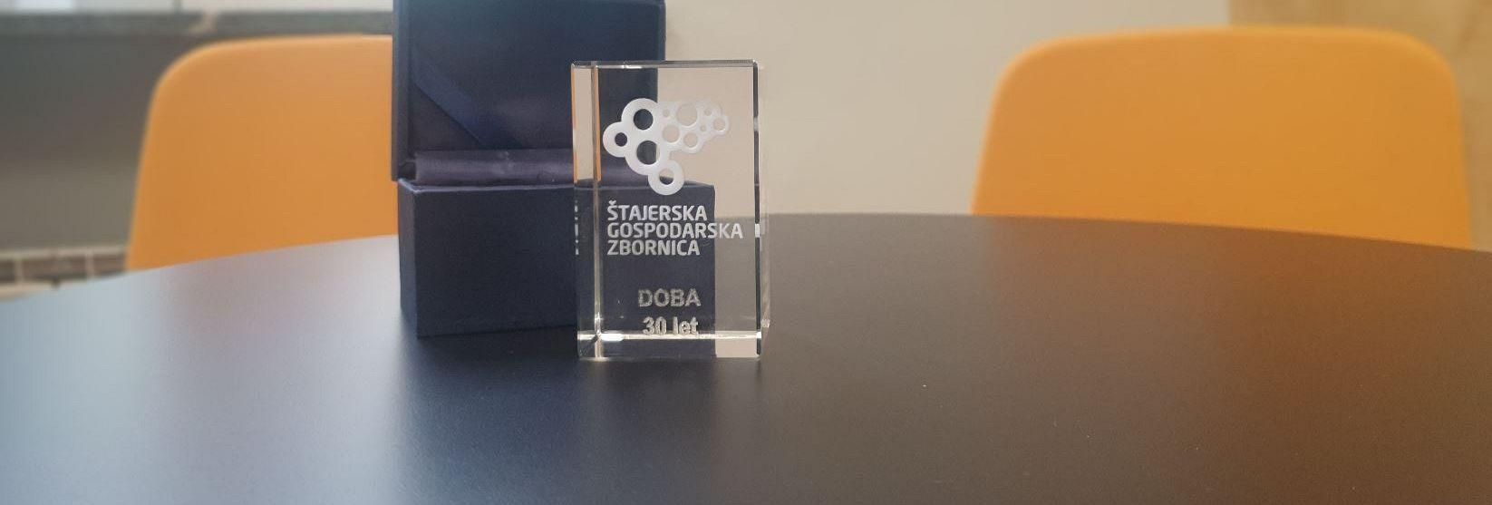 Nagrada Štajerske gospodarske komore DOBI povodom 30. obljetnice