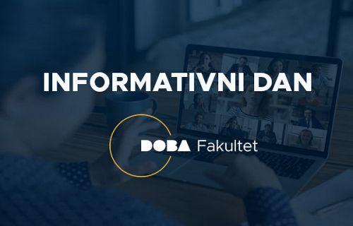 Informativni dan DOBA Fakulteta